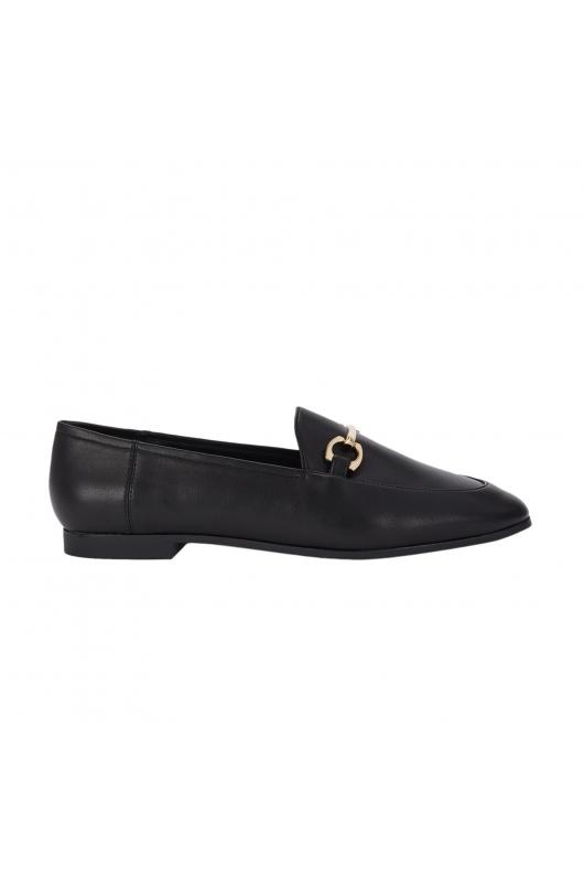 Flat Heel Shoes Black