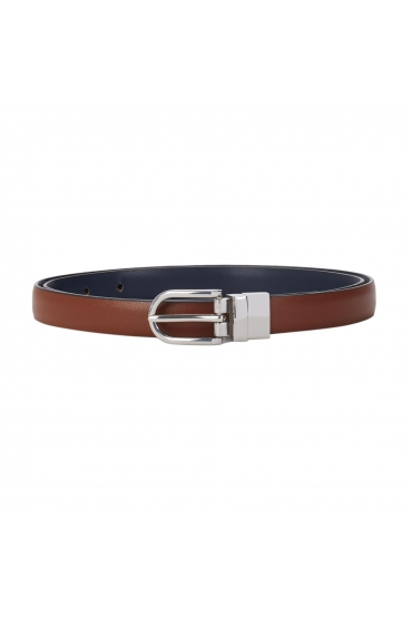 Narrow Belt Brown U