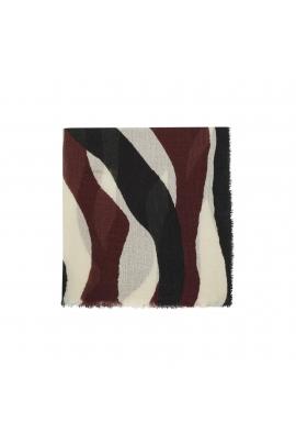 Blanket Scarves ROSE BERRY Burgundy M