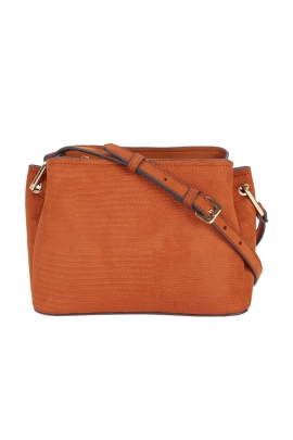 Crossbody Bag REVIVE Camel M