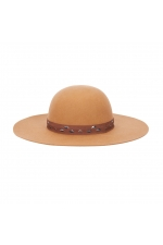 Rounded Crown Hat Camel