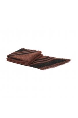 Blanket Scarves WINTER MUSHROOMS Dark Pink M