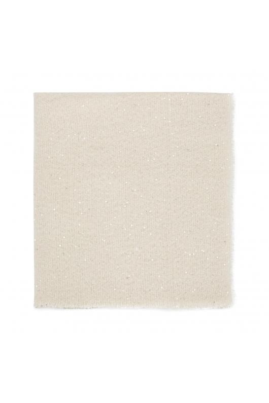 Blanket Scarves SNAKES Ecru M