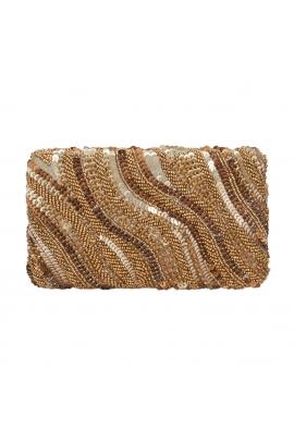 Box Bag HILL Gold M