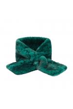 Fur Stoles SNAKES Green M