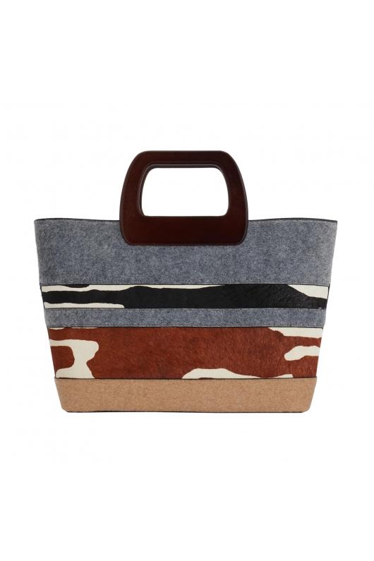 Shopper Bag MILK2 Grey M