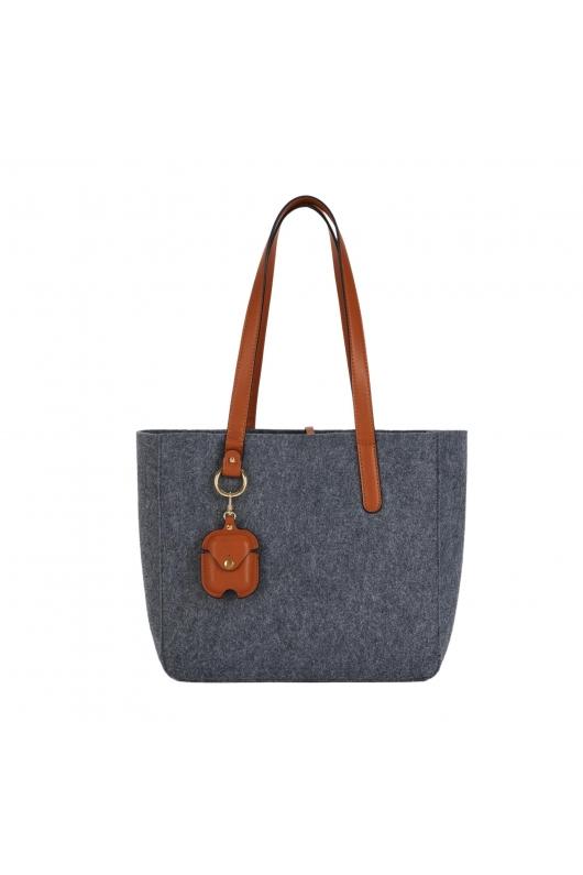 Shopper Bag MILK3 Grey M