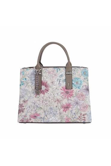 Tote Bag MARY JANE Taupe L