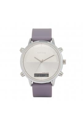 Digital Watch Silver Tray Lilac U