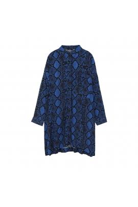 Dress SNAKE Blue U