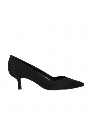 Medium Heel Shoes Black