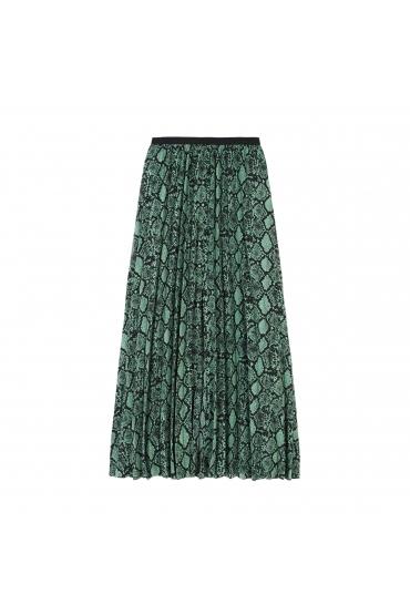Skirt SNAKE Green U