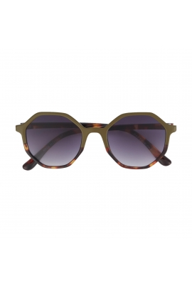 Round Sunglasses GENERAL SUNGLASSES Olive U