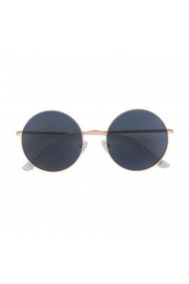 Round Sunglasses Rose Gold