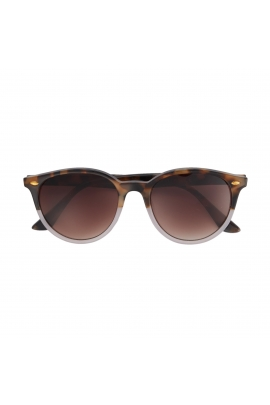 Round Sunglasses Brown U