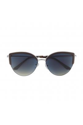 Round Sunglasses WORLD Silver U