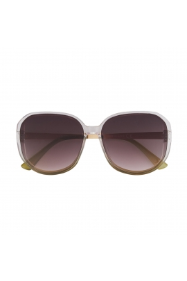 Square Sunglasses WORLD Caramel U