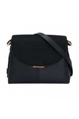 Crossbody Bag FADE Black L