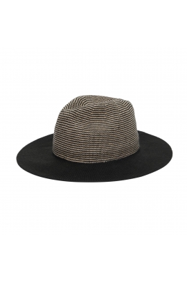 Fedora Hat Black U