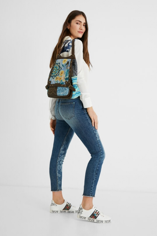 SKINNY JEANS CROPPED