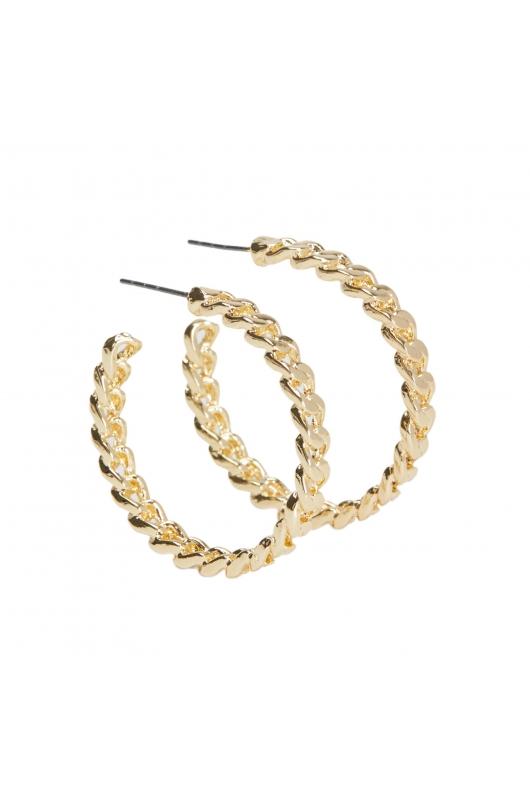 Earring HOOP FEVER Gold U