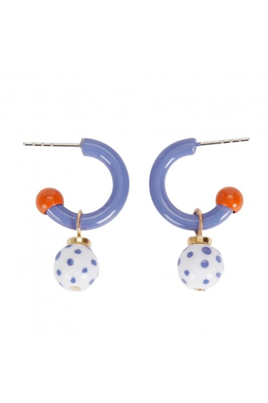 Earring MARTIN Blue U
