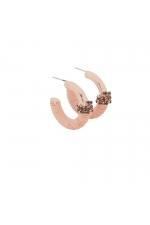 Earring ROSE GLOW Rose Gold U