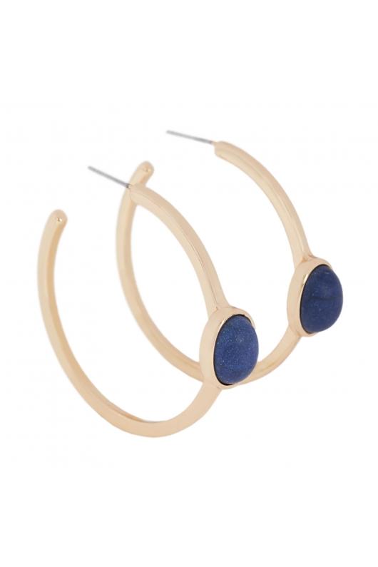 Earring SANTORINI Blue U