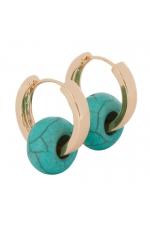 Earring SANTORINI Turquoise U