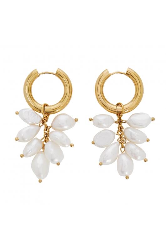 Earring SPARKLING EARRINGS Gold U