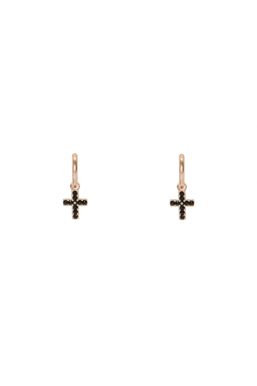 Earring STAINLESS STEEL SILVER Rose Gold U