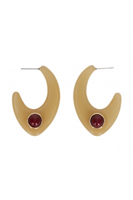 Earring TERRACOTA Halftone Multicolor U