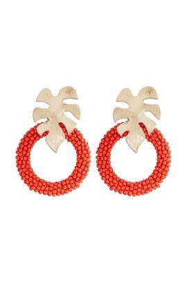 Earring TROPICALIA Coral U