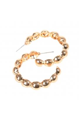 Hoop earrings GOLDEN PROVISION Gold U
