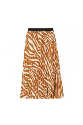 Skirt STRIPES Camel U