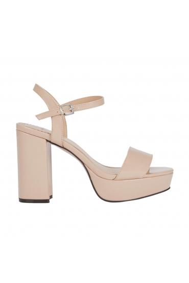 High Heel Sandals Nude