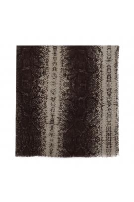 Blanket Scarves LATERAL Grey L