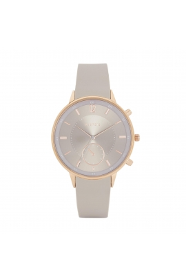 Casual Watch Rose Gold Tray Taupe
