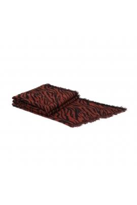Blanket Scarves PRINTED WINTER Red M
