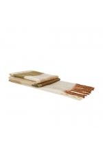Blanket Scarves COLD FOREST Beige L