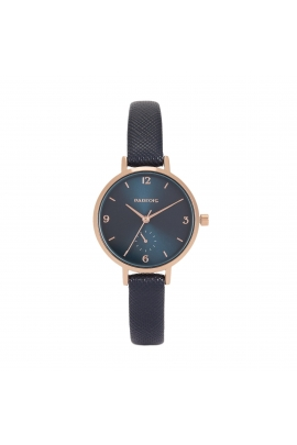 Casual Watch Rose Gold Tray Navy