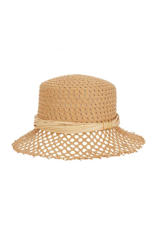 Rounded Crown Hat GENERAL HATS Beige U