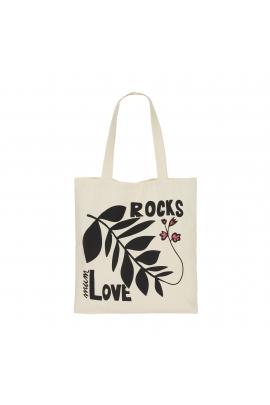 Tote Bag Mum Rocks Ecru M