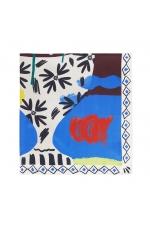 Square Scarf PANEL Bright Multicolor M