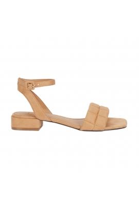 Flat Heel Sandals Beige