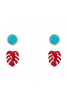 Set of Earrings JUICY Gold U