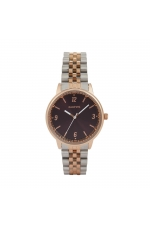 Casual Watch Rose Gold Tray Burgundy