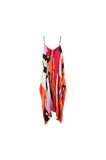 Dress CARPET TOTAL LOOK Orange U