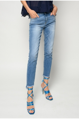 JEANS SKINNY-FIT CROPPED