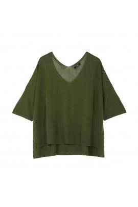 Sweater FLOWER Green U